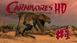 Carnivores: Dinosaur Hunter HD (PS3) - Where am I Jurassic Park?! - Episode 1