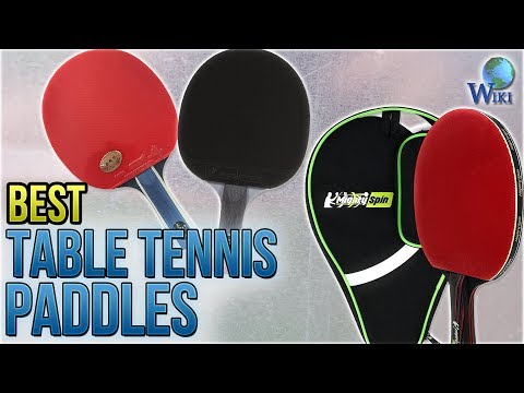 10 Best Table Tennis Paddles 2018