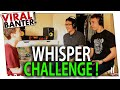 WHISPER CHALLENGE! ROOMMATE CHALLENGE