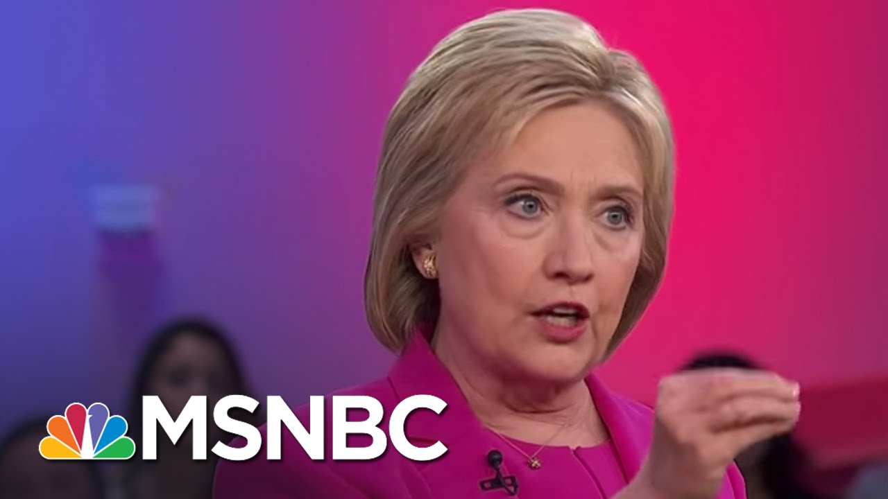 Hillary Clinton: Will 'Go After Bigotry' In Housing Market   MSNBC thumbnail