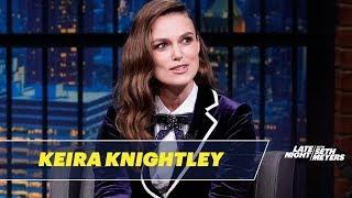 Keira Knightleys Prom Photo Was Banned From Her School