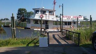 Rappahannock River Cruise to Ingleside Vineyards