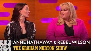 Anne Hathaway Loves To Be Insulted By Rebel Wilson  | The Graham Norton Show | BBC America