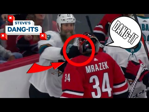 NHL Worst Plays Of The Week: Goalie PUNCH! | Steve's Dang-Its