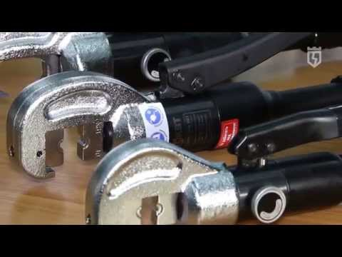 Hydraulic tools for crimping of cable lugs ПГР/ПГРс/ПГРс-у