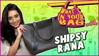 Shipsy Rana's Handbag Secret Revealed   What's In Your Bag   TellyMasala