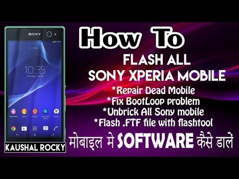 How to Flash Sony Xperia C5 Ultra Dual E5563   Flash file or