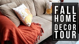 FALL HOME DECOR TOUR 2017 // DECORATE WITH ME // FALL 2017