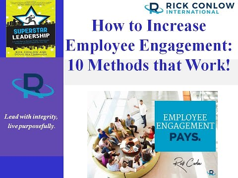 How to Increase Employee Engagement: 10 Methods that Work ...