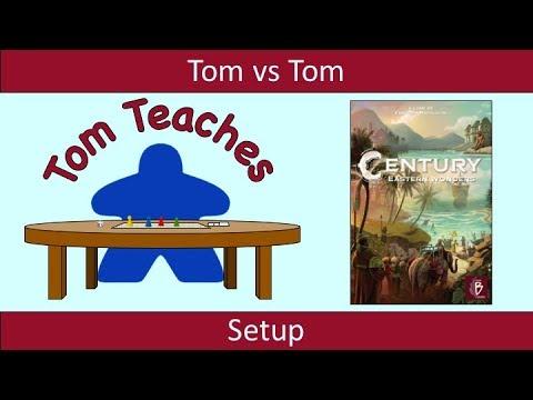 Tom Teaches Century: Eastern Wonders (Setup)