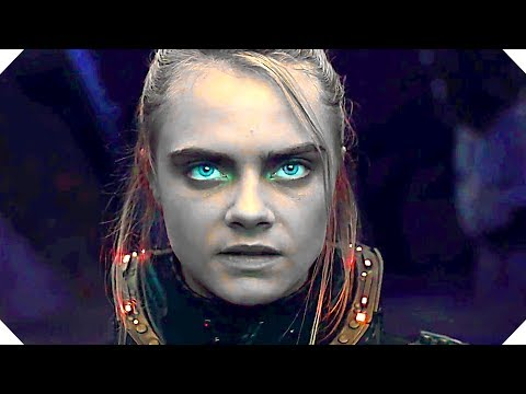 New Official Trailer for Valerian and the City of a Thousand Planets
