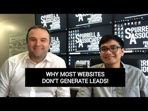 Edmonton Business Coach | Why Most Websites Don't Generate Leads