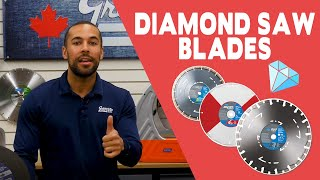 Choosing the RIGHT Diamond Saw Blade - Gear Up With Gregg's