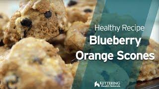 Recipe: Blueberry Orange Scones