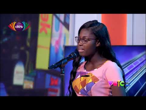 Sherita auditions for the 2019 Voice Factory