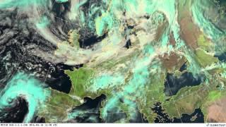 European weather April 2016