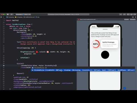 SwiftUI Apple Watch Rings Animation