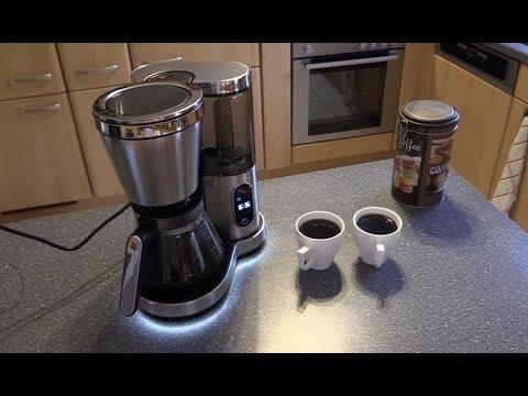 WMF Lumero Kaffeemaschine - Glaskanne, Touch-Display, LED Beleuchtung