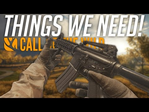 THINGS WE NEED! | theHunter: Call Of The Wild