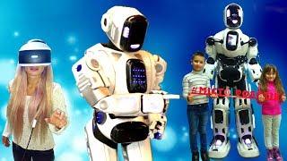 РОБОТЫ в реальной жизни и ВИРТУАЛЬНАЯ РЕАЛЬНОСТЬ / Выставка Развлечение для детей