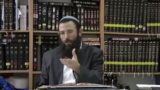 איסור והיתר סימן צד סע' ד-ה הרב אריאל אלקובי שליט''א