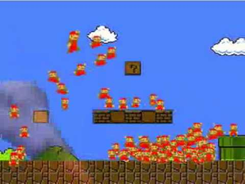 100 Marios, All Hand Controlled
