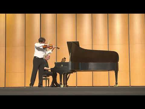 This is my most recent performance on violin at Brevard Music Center for the concerto competition finals.