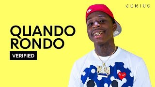"Quando Rondo ""Kiccin Shit"" Official Lyrics & Meaning 