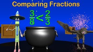Comparing Fractions - 4th Grade Mage Math