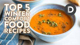 Top 5 X Comfort Food Recipes! WINTER RECIPES!