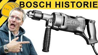 BOHRMASCHINE VOR 100 JAHREN! DIE HISTORISCHE SAMMLUNG von BOSCH!