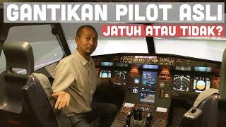 ANDAI PILOT PINGSAN! Mungkinkah Kita Mendaratkan Pesawat? | Feat. Capt. Vincent Raditya