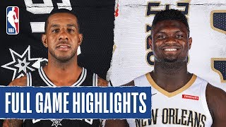 SPURS at PELICANS | FULL GAME HIGHLIGHTS | January 22, 2020