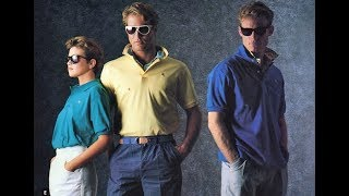 Top 10 Of The Best 80s Fashion Trends For Men. How To Dress 80s