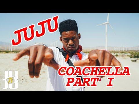 JuJu Smith-Schuster Takes Over Coachella: Day 1