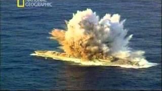 Смотреть онлайн Как взрывают огромный корабль