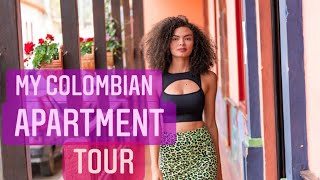 My Colombian apartment TOUR & COST OF LIVING IN BOGOTÁ