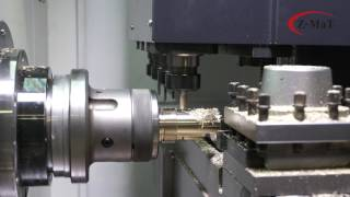 Z-MaT TMC400Y Turn-Mill Machine