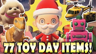77 Stunning Toy Day Items YOU NEED TO GET in Animal Crossing New Horizons!