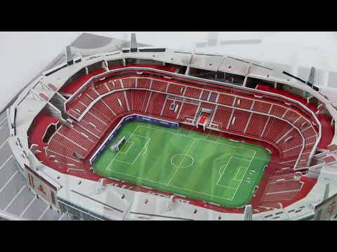 3D-Puzzle Nanostad: Arsenal London