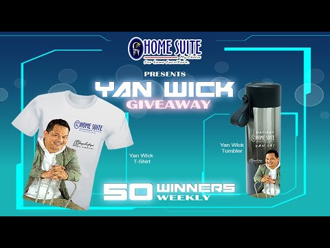 HOME SUITE presents YAN WICK GIVEAWAY!!!