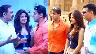 Shooting Of Mujhse Shaadi Karogi | Akshay Kumar | Salman Khan | Priyanka Chopra | Flashback Video