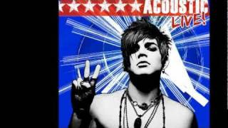 Adam Lambert -Soaked- Acoustic EP
