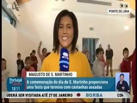 Magusto de S Martinho | RTP 1 - Portugal em Direto - Parte 1