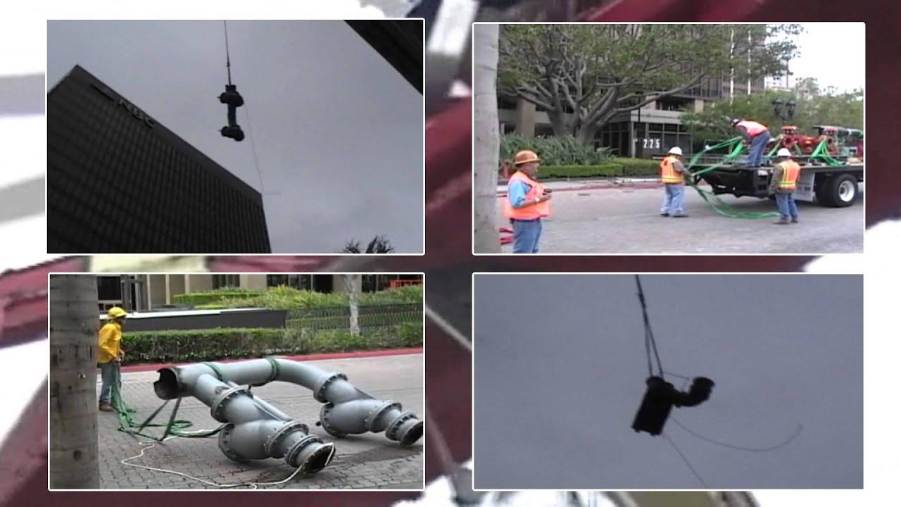 San Diego Mechanical Energy - Skycrane Lifting