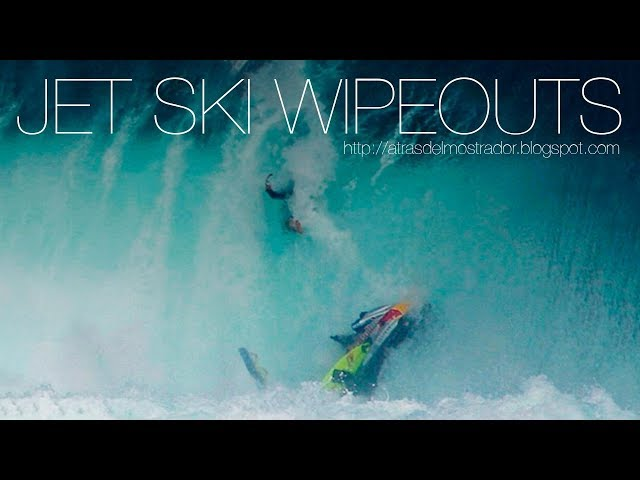 SURF: Jet Ski Wipeouts (Fails, Accidents)