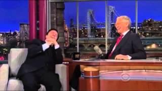Nathan Lane on David Letterman 5/3/2013 P2/2