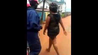 Gals fight for a guy