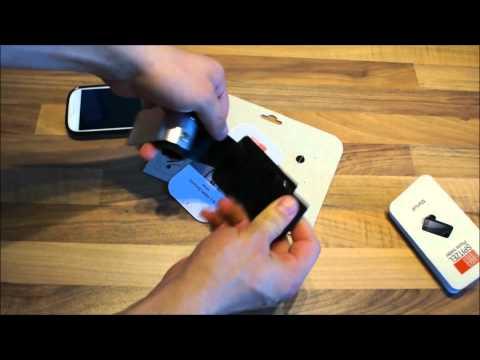 FAHRER Spitzel: Fahrradhalterung für das Samsung Galaxy S3