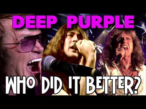 DEEP PURPLE - Who Did It Better? Ian Gillan vs. David Coverdale vs. Glenn Hughes